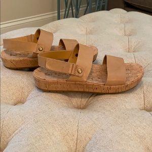 Korks sandals!